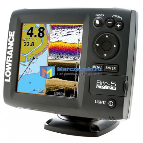 Lowrance Elite-5 CHIRP 50/200