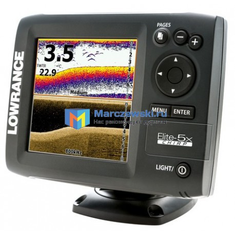 Lowrance Elite-5x CHIRP 83/200