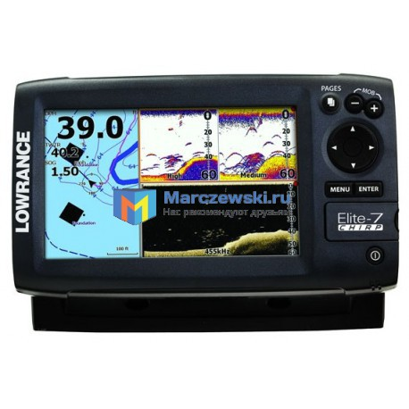 Lowrance Elite-7 CHIRP 83/200